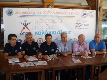 1-8 Αυγούστου η Διεθνής Ιστιοπλοϊκή Εβδομάδα Ιονίου με τη συμμετοχή 80 σκαφών