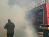 Τέθηκε υπό έλεγχο η πυρκαγιά στο βενζινάδικο στην Έρυσσο