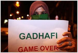 Σφοδρές συγκρούσεις γύρω από την κατοικία του Καντάφι