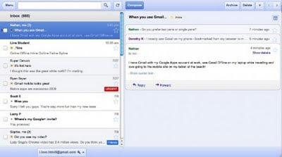 Gmail, Calendar και Docs διαθέσιμα ως offline web εφαρμογές