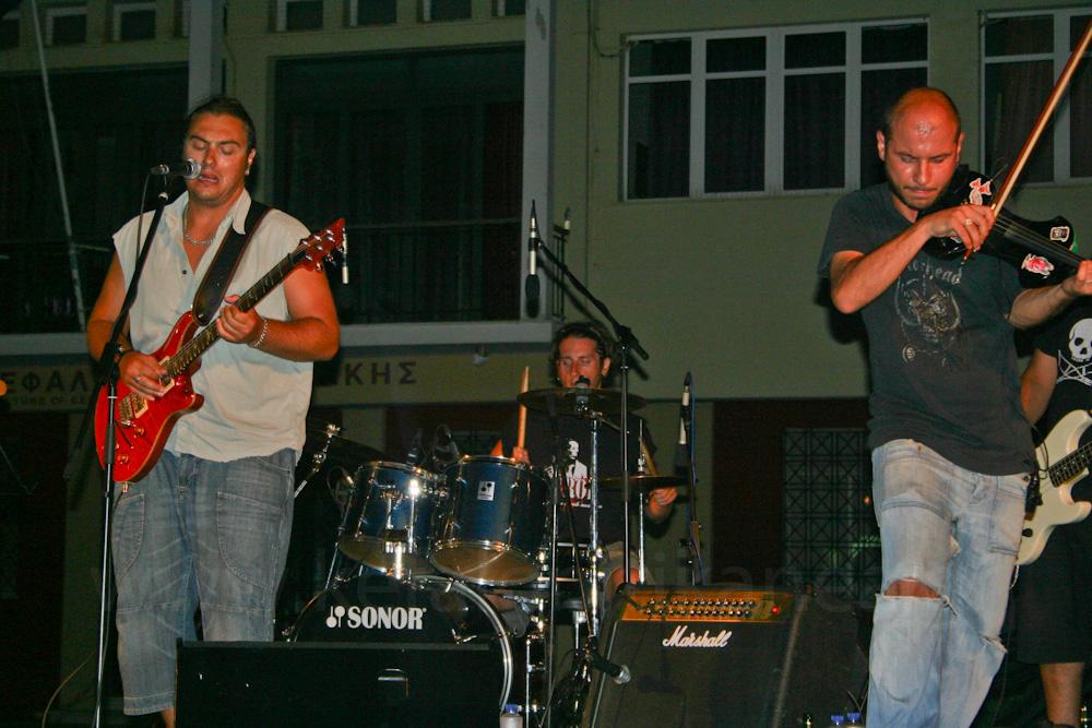Ο Διονύσης Καλαφάτης σήμερα στο Rockομελάδικο (22-8-2012)